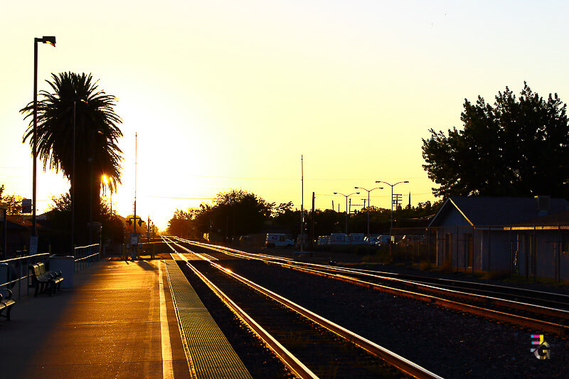 A Journey Of Colour - Merced Railway Station Photo