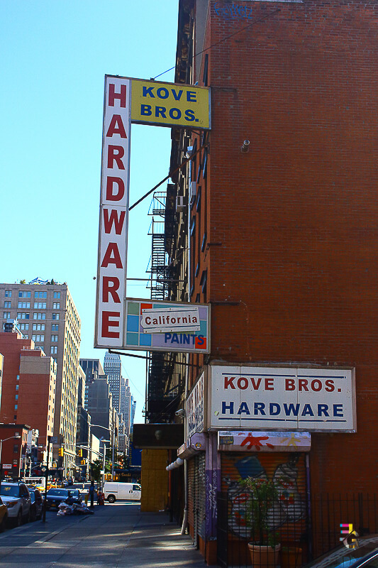 A Journey Of Colour - Kove Bros Hardware Photo