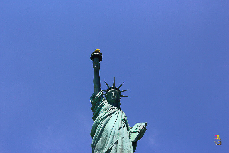 A Journey Of Colour - Statue of Liberty Photo