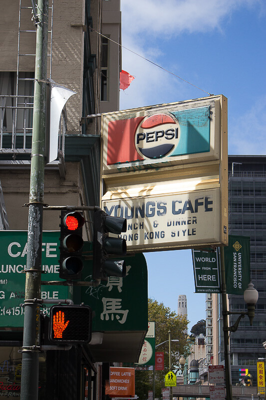 A Journey Of Colour - Youngs Cafe San Francisco Photo