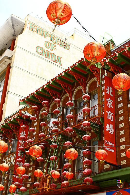 A Journey Of Colour - San Francisco Chinatown Photo