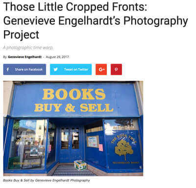 Crowdink - Those Little Shopfronts