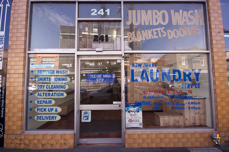 Those Little Shop Fronts - Coin Laundry Photo