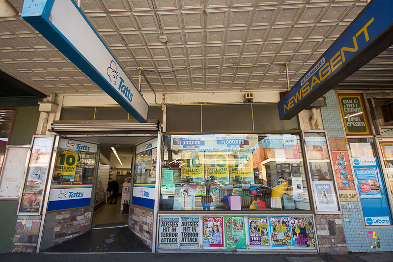 Those Little Shop Fronts - Murrumbeena Newsagency Photo
