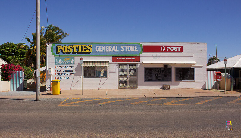 Those Little Shop Fronts - General Store Onslow Photo