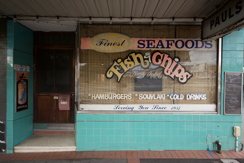 Those Little Shop Fronts - Paul's Fish 'n' Chips Box Hill Photo