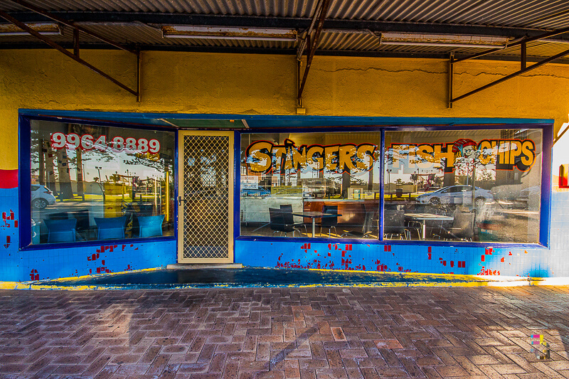 Those Little Shop Fronts - Stingers Fish And Chips Geraldton Photo