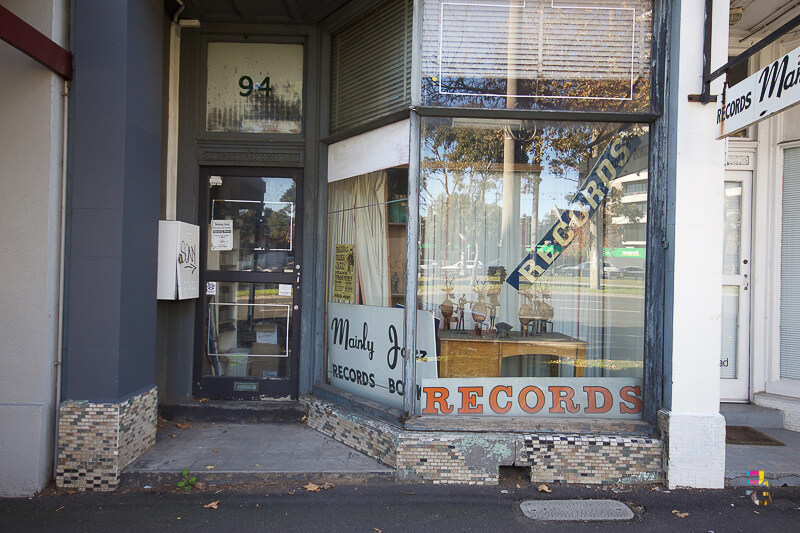 Those Little Shop Fronts - Mainly Jazz Record Shop St Kilda Photo