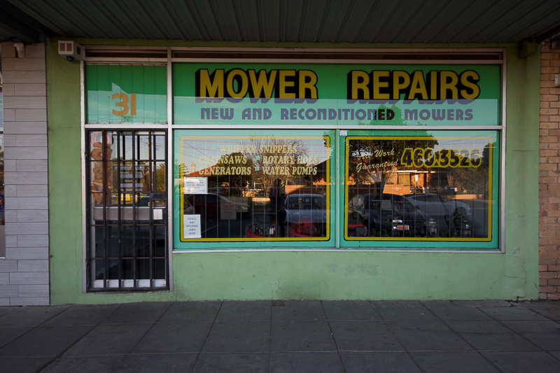 Those Little Shop Fronts - Mower Repairs Reservoir Photo