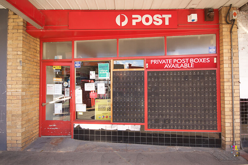 Those Little Shop Fronts - Post Office Photo