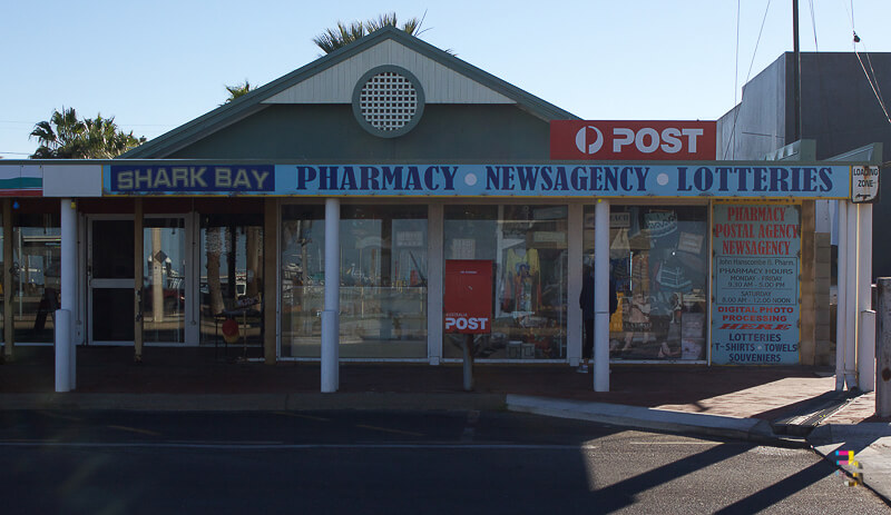 Those Little Shop Fronts - Post Office Shark Bay Photo